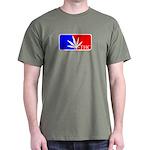 weed sports logo Dark T-Shirt