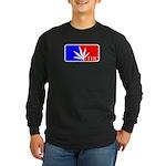weed sports logo Long Sleeve Dark T-Shirt