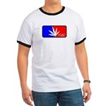 weed sports logo Ringer T