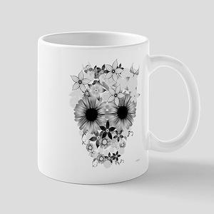 Skull flowers Mug
