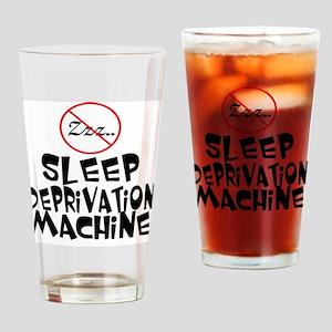 Sleep Deprivation Machine Drinking Glass