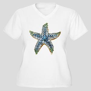 Starfish Vintage Rhinestone Costume Jewelry Plus S