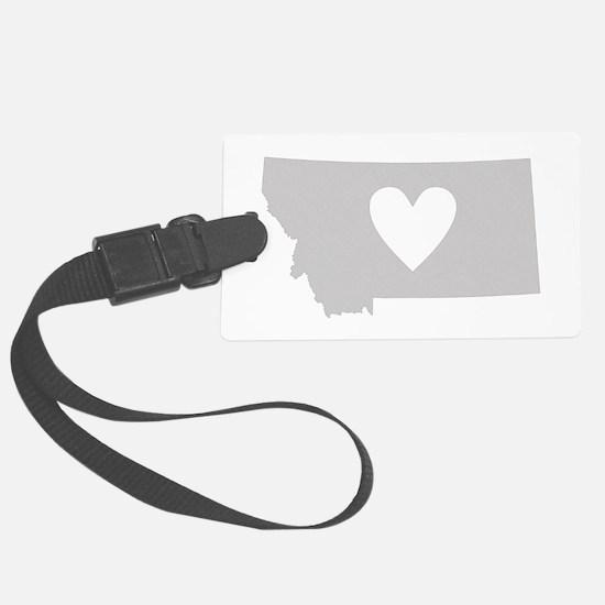 Heart Montana Luggage Tag