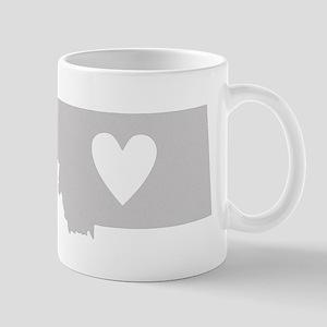 Heart Montana Mug