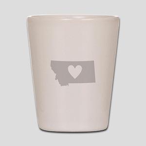 Heart Montana Shot Glass