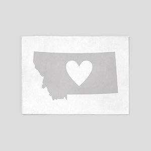 Heart Montana 5'x7'Area Rug