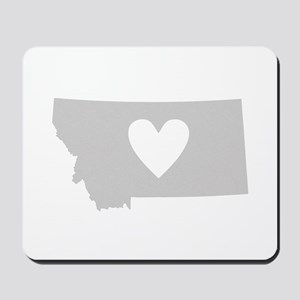 Heart Montana Mousepad