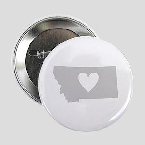 """Heart Montana 2.25"""" Button"""