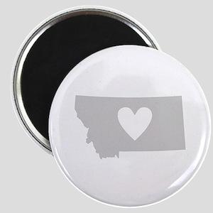Heart Montana Magnet