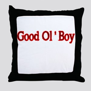GOOD OL BOY 2 Throw Pillow