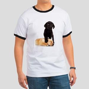 Labrador Playmates Ringer T