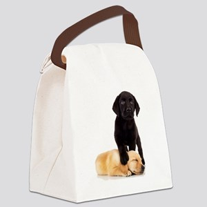 Labrador Playmates Canvas Lunch Bag