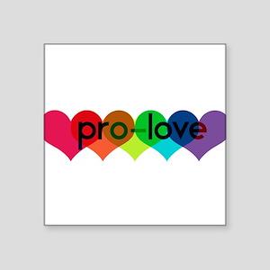 Pro-LOVE Sticker