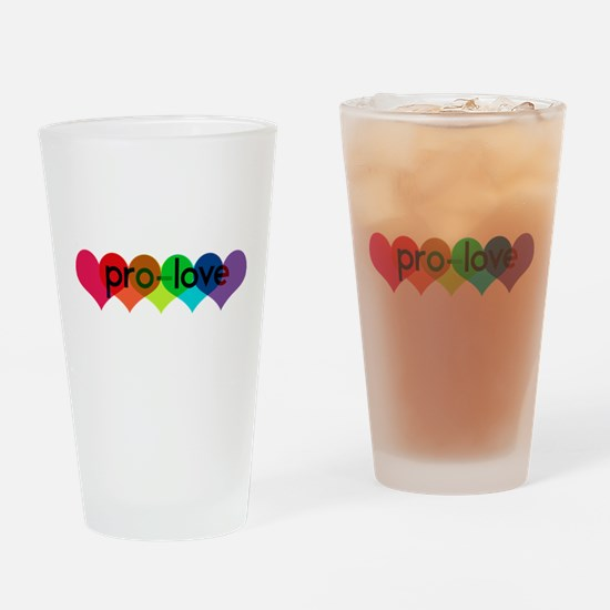 Pro-LOVE Drinking Glass