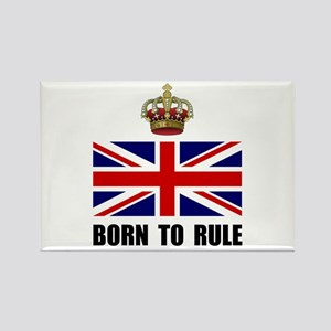 Royal Crown Rule Rectangle Magnet (10 pack)