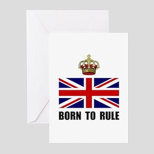 Royal Crown Rule Greeting Cards (Pk of 20)