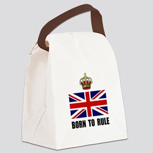 Royal Crown Rule Canvas Lunch Bag