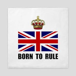 Royal Crown Rule Queen Duvet