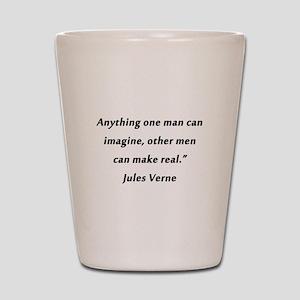 Verne On Imagination Shot Glass