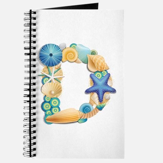 BEACH THEME INITIAL D Journal