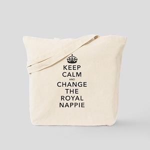 Change Royal Nappie Tote Bag