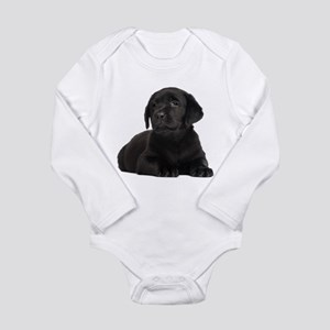 Labrador Retriever Long Sleeve Infant Bodysuit