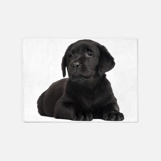 Labrador Retriever 5'x7'Area Rug