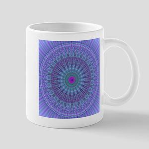 Purple Inspire mandala kaleidoscope Small Mug