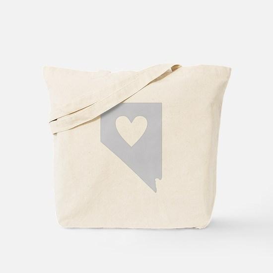 Heart Nevada Tote Bag