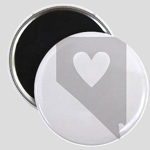 Heart Nevada Magnet