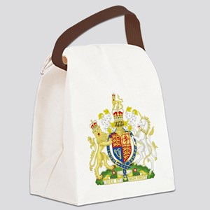 Royal Coat of Arms Canvas Lunch Bag