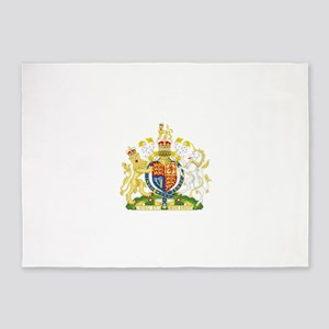 Royal Coat of Arms 5'x7'Area Rug