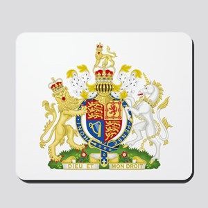 Royal Coat of Arms Mousepad