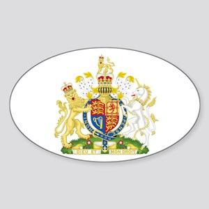 Royal Coat of Arms Sticker