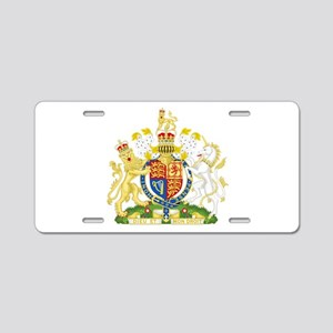 Royal Coat of Arms Aluminum License Plate