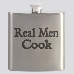 REAL MEN COOK Flask