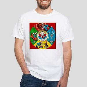 Vintage Toy Clown Cartoon Target Game T-Shirt
