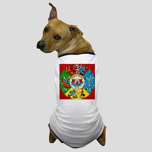Vintage Toy Clown Cartoon Target Game Dog T-Shirt