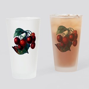 Vintage Cherry Big Red Juicy Cherries Fruit Drinki