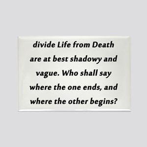 Poe On Life and Death Magnets