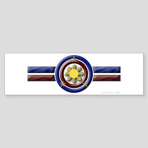Philippine Shield - Bumper Sticker