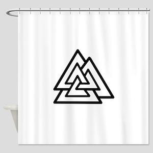 valknot Shower Curtain