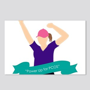 Power Up for PCOS Postcards (Package of 8)