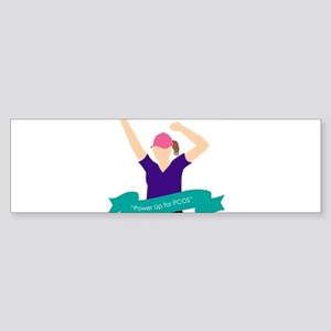 Power Up for PCOS Bumper Sticker