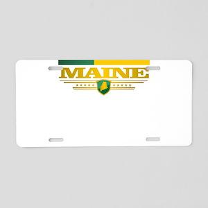 Maine Gadsden Flag Aluminum License Plate