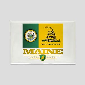 Maine Gadsden Flag Rectangle Magnet