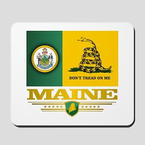 Maine Gadsden Flag Mousepad