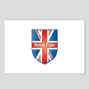 Union Jack Royal Pain Postcards (Package of 8)