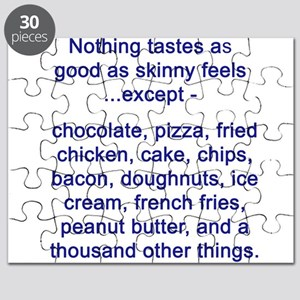 Food over skinny Puzzle