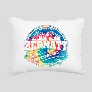 Zermatt Old Circle Rectangular Canvas Pillow